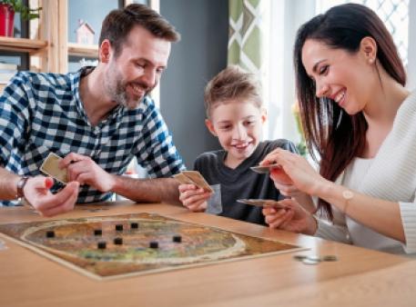 Настольные игры как способ укрепления отношений с детьми