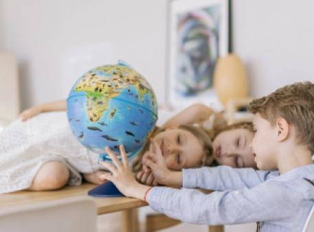 Глобус для ребенка – лучший инструмент познания мира
