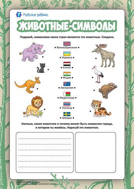 Определяем символы разных стран