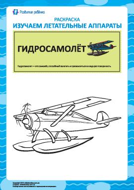 Раскраска летательных аппаратов: гидросамолёт