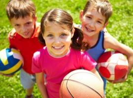 Летние командные игры для детей