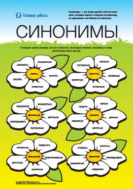 Изучаем синонимы: №1 (русский язык)