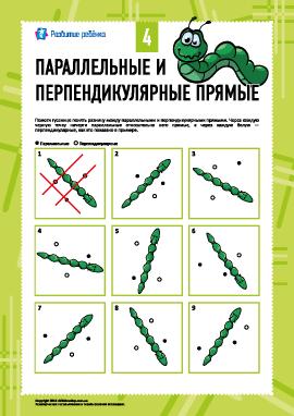 Параллельные и перпендикулярные прямые №4