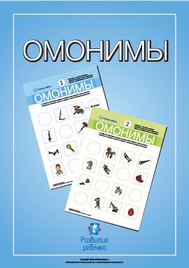 Изучаем омонимы (русский язык)