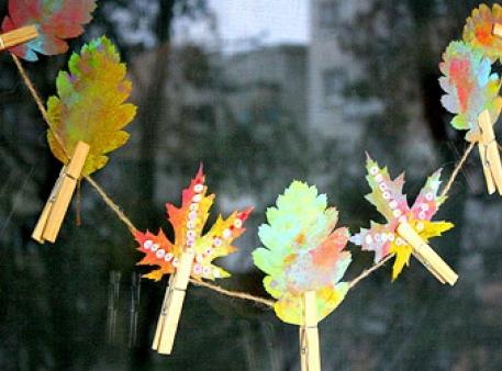 Творческие эксперименты с осенними листьями