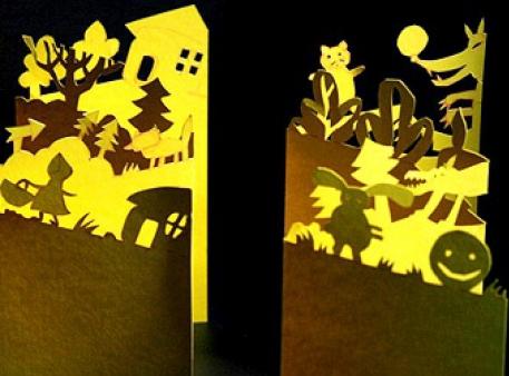 Иллюстрируем сказки в технике «paper cutting»