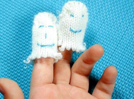 Простые пальчиковые игрушки за 5 минут