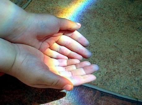 Как сделать радугу у себя дома