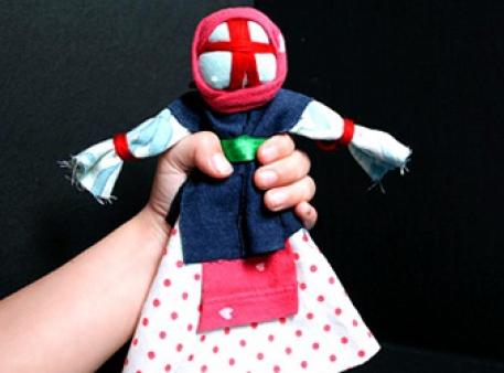 Кукла-мотанка - оберег для семьи своими руками