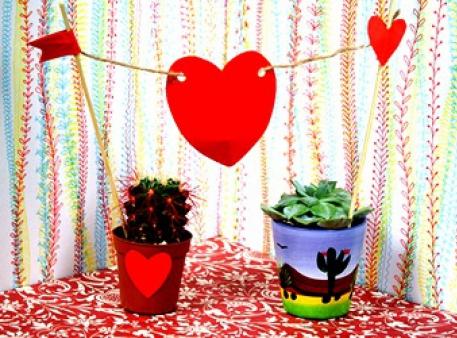 Романтичный топпер для ваших домашних растений