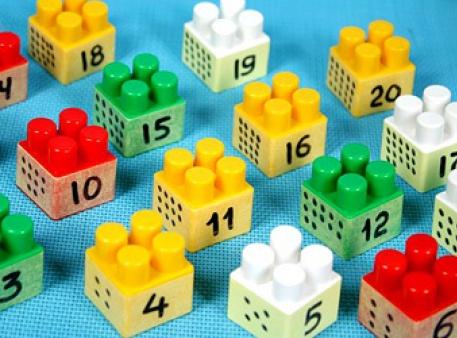 Математический конструктор для детской игры