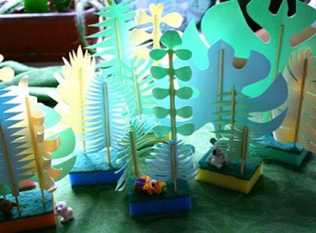 Джунгли своими руками - детские игровые декорации
