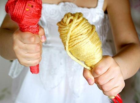 Как сделать детские маракасы своими руками