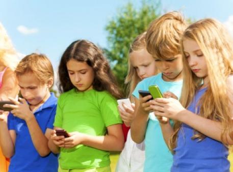 Зависимость детей от электронных устройств