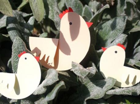 Курочка с цыплятами: проект для малышей