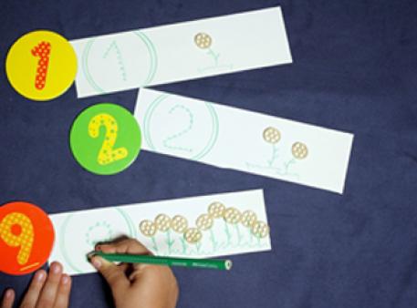 Арифметическая игра - изучаем первый десяток
