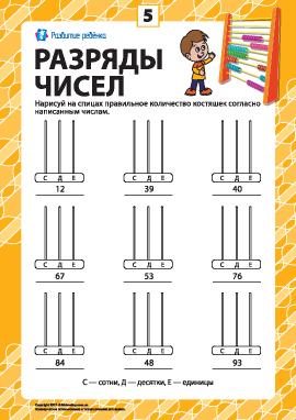 Разряды чисел: учим класс единиц № 5