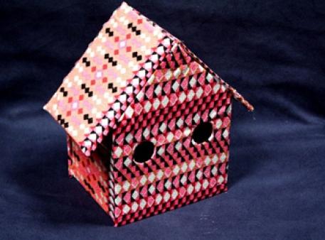 Декоративный картонный домик своими руками