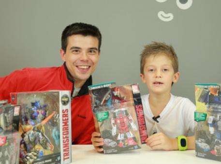 Приключения трансформеров от «Будинок Іграшок»