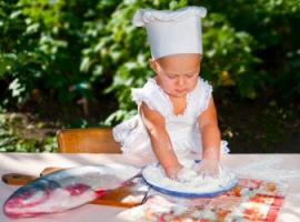 Еженедельное употребление рыбы полезно для детей