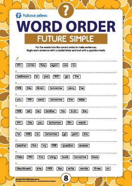 Порядок слов в вопросительном предложении: Future Simple