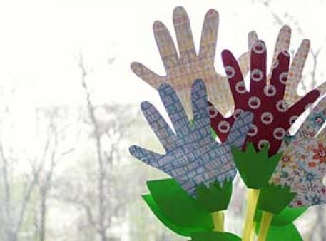 Цветы своими руками из скрап-бумаги и трубочек