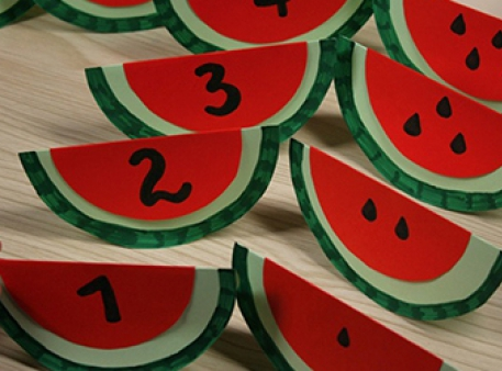 Арбузы-самоделки: математическое задание