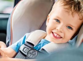 Как предотвратить укачивание ребенка в машине