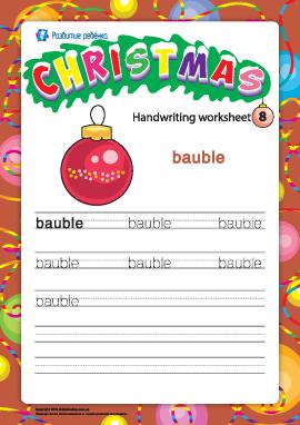 Рождественский словарик: bauble