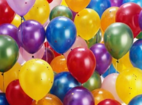 Воздушные шары, которые надуваются сами