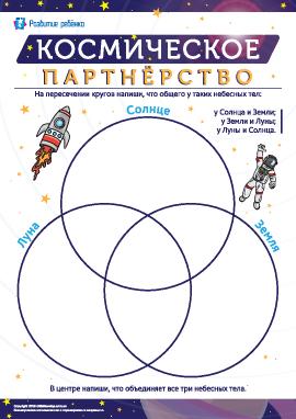 Космическое партнерство: учимся сравнивать