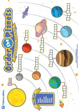 Изучаем порядок планет в Солнечной системе (английский язык)