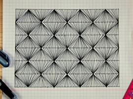 Зентангл - завораживающая абстракция