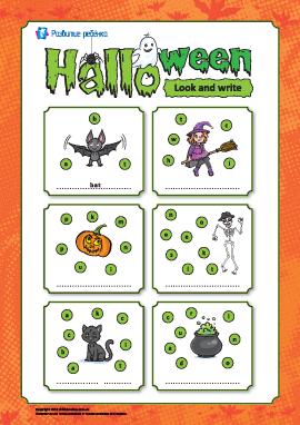 Расшифровываем слова: «Хеллоуин» (на английском языке)