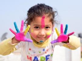 Подарок творческим детям на Новый год