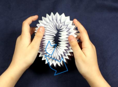 Как сделать волшебное движимое оригами