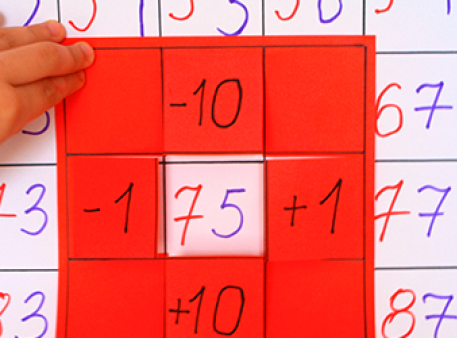 Математический плакат: изучаем десятки и единицы