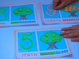 Арифметика и пластилин: детский урок с числами