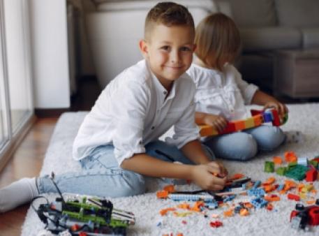 Конструктор LEGO и пространственное воображение ребенка